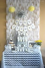 gray u0026 yellow baby shower decorating ideas diys crafts u0026 recipes