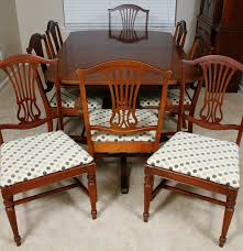 Thomasville Dining Room Chairs by Vintage Thomasville Duncan Phyfe Style Dining Table And Chairs Ebth