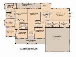 ranch style house plan 4 beds 3 00 baths 4100 sq ft plan 515 1