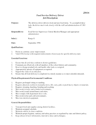 Sample Resume Objectives Warehouse Worker by Sample Resume Delivery Driver Free Resume Example And Writing
