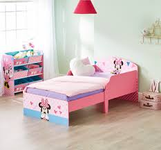 cama infantil de madera con minnie mouse disney ideal para