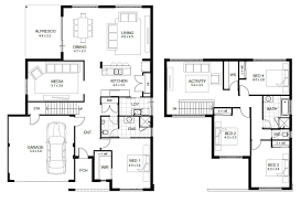 Small 3 Bedroom House Floor Plans by 100 3 4 Bath Floor Plans 4 Best Ranch Open Floor Plan House