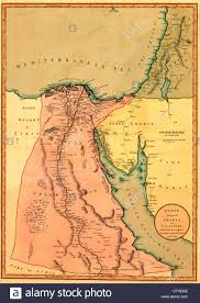 Map Egypt Map Of Egypt Stock Photo Royalty Free Image 57920906 Alamy