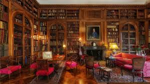 Home Library Lighting Design by 8 Home Libraries Sherlock Holmes Would Feel At Home In