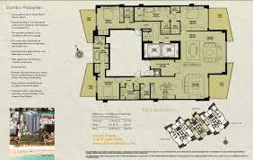 Condominium Floor Plans House Master Floor Plans In Addition W South Beach On Beach Condo
