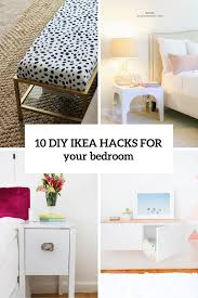 Diy Ikea Bed 10 Awesome And Practical Diy Ikea Hacks For Your Bedroom Shelterness