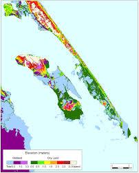 Roanoke Virginia Map by More Sea Level Rise Maps Of North Carolina