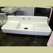 Best Double Drainboard Sinks Images On Pinterest Vintage - Shallow kitchen sinks