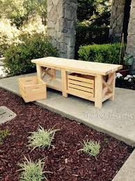 Diy Reclaimed Wood Storage Bench by Best 25 Wooden Bench Seat Ideas On Pinterest Wooden Dining