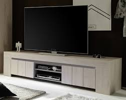 Salle A Manger Chene Blanchi by Meuble Tv Angle Chene Blanchi Buffet Tv Portes Coulissantes Laqu