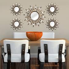 amazon com stratton home decor shd0087 5 piece burst mirrors