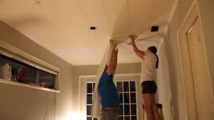 hanging wallpaper on the ceiling youtube