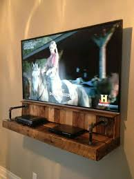 Build Wooden Shelf Unit by Best 25 Media Shelf Ideas On Pinterest Mounted Tv Decor Rustic
