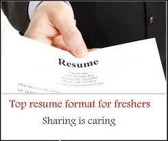 Sample Resume Format For Bcom Freshers by Top 5 Resume Format For Freshers Free Download Freshers 360