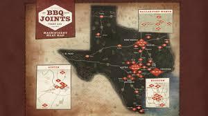 Map Card Austin by Bbq Passport