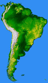 Map Of The South America by South America Largest