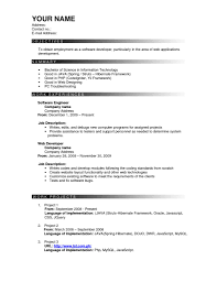 Java Resumes Effective Resume Resume For Your Job Application