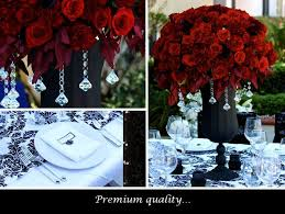 Black Centerpiece Vases by 105 Best Black Red And White Party Ideas Images On Pinterest