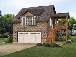 Shop With Living Quarters Floor Plans Two Car Garage Apartment 22108sl Architectural Designs House