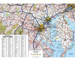 Large Map Of Usa by Delaware Location On The Us Map Delaware State Map Filemap Of