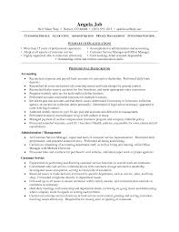 Best Resume Qualifications by Sample Resume Good Customer Service Templates