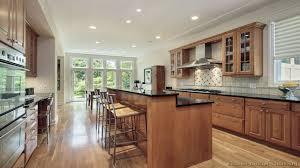bar height kitchen island kitchens design
