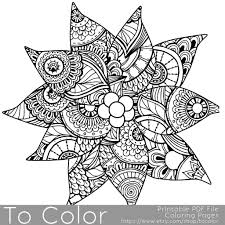 8 christmas coloring pages for adults colored pencils markers