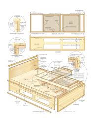 Build Diy Platform Bed by Build A Bed With Storage U2013 Canadian Home Workshop Ideas