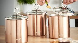 100 kitchen canister set art deco canister set chrome