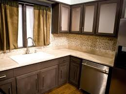 Painting Kitchen Cabinets Espresso Kitchen Kitchen Colors With Dark Brown Cabinets Kitchen Shelving