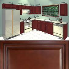 Geneva Metal Kitchen Cabinets Lesscare Cherryville 10x10 Kitchen Cabinets Group Sale