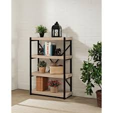 White Short Bookcase by Bookcases Home Office Furniture The Home Depot
