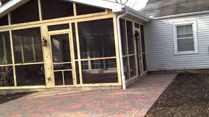 Screen Porch Roof by Screened Porch U0026 Patio In Northbrook Il Archadeck To The Rescue