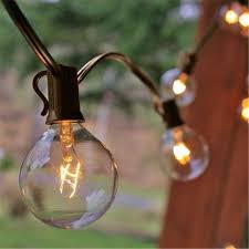 Patio Lights Outdoor by Zitrades Patio Lights G40 Globe Party String Lights Decorative