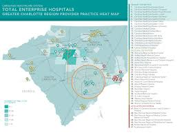 Charlotte Usa Map by Locations Carolinas Healthcare System