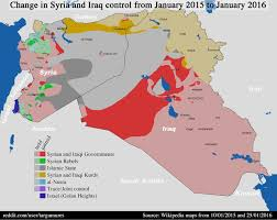 Iraq Syria Map by Islamic State Territory Change In Syria And Iraq 2015 2017