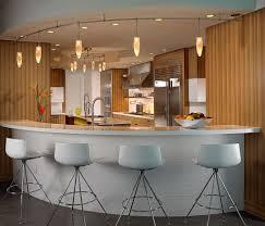 Kitchen Breakfast Bar Design Ideas Small Breakfast Bar And Stools Wooden Laminate Countertop White