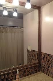 how to frame a mirror hgtv with regard to bathroom mirror