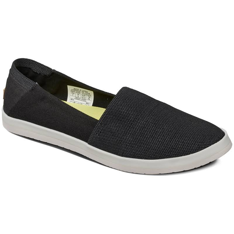 Reef Rose Slip-On Summer Shoe Black 8