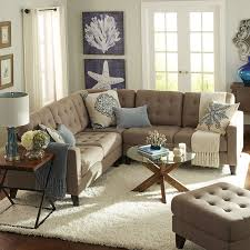 Pier 1 Bedroom Furniture by Build Your Own Nyle Putty Tan Sectional Collection Pier 1 Imports