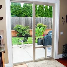 sliding glass door cat door images glass door interior doors