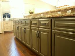Antiqued Kitchen Cabinets by Olive Green Distressed Kitchen Cabinets Quicuacom Exitallergy