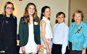 youth essay Grand Canyon Chapter DAR American History and Christopher Columbus essay contest winners at state and