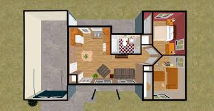 100 micro house floor plans 192 sq ft studio cottage this