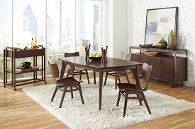 amazon com pulaski modern harmony rectangular leg table tables