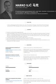 Sample Resume Of Office Administrator by Office Manager Resume Samples Visualcv Resume Samples Database