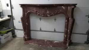 cast concrete fireplace mantel youtube