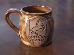 prancing pony mugs functional mud