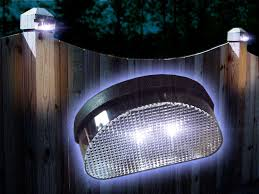 Solar Fence Lighting by Solar Garden Wall Lights 10 Ways To Light Your Garden Without