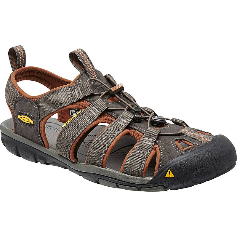 KEEN Clearwater Cnx Sandals Raven/Tortoise Shell 9.5 1014456-600-9.5
